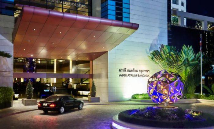 Avani Atrium Bangkok Hotel Enterance